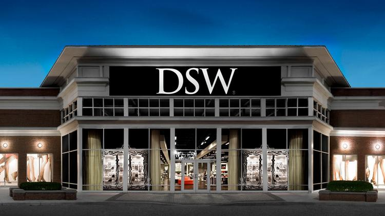 DSW stores tend to be large at about 22,000 square feet but the chain is opening some as small as 10,000 square feet.