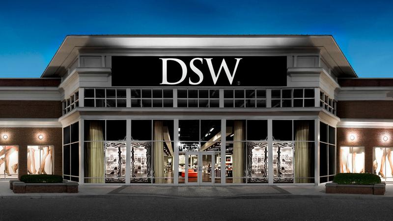DSW store exterior large