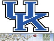 University of Kentucky  Supplier: Nike Equipment (2013-14): $1.6 million Cash (2013-14): $1.8 million  The deal: Nike locked up the university through 2017 with a 10-year deal in 2007. The deal will net the university $33 million in cash and equipment.  Fun fact: The deal provides Nike two passes to the athletic director's hospitality suite for each home football and basketball game.