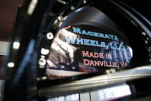 Macerata Wheels will locate its manufacturing and distribution operations to Danville, Va., and hire 100 people.
