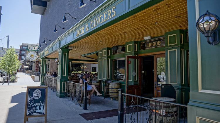 Jack Ginger S Irish Pub Was One Of The First Elishments To Open On