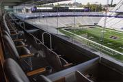 Luxury suites like this one are a big part of the revenue strategy for the new Husky Stadium. Season-ticket prices for suites sell for as much as $60,000 for an 18-seat suite.