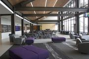 The Jim and Margie Rose Recruiting Lounge in the new Husky Stadium.