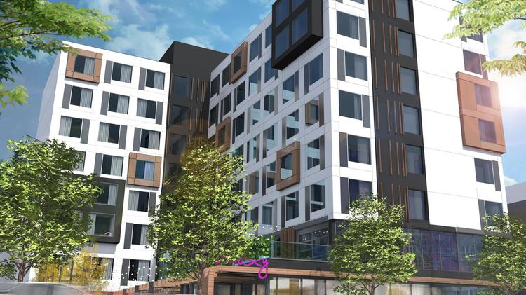 A Rendering Of The Moxy Hotel Coming To Cherry Creek