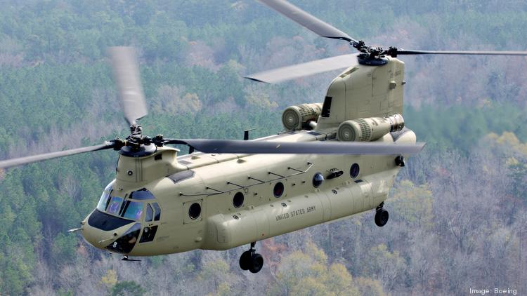 Image result for The CH-47 is a twin-engine, tandem rotor helicopter