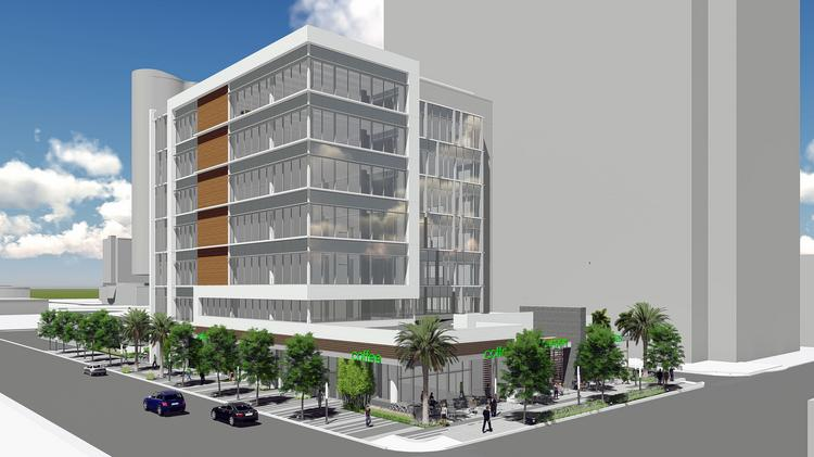 The 550 Building should break ground at 550 S. Andrews Ave. in Fort Lauderdale in late 2016 and will get a parking garage next door.