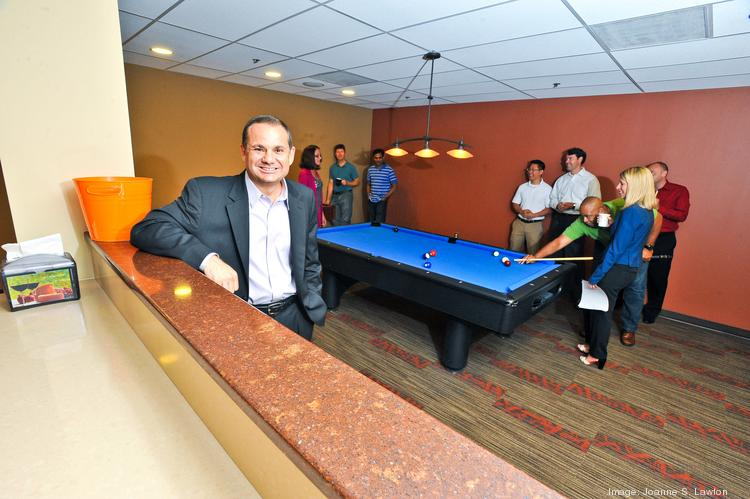CEO David Fout says Aquilent's game room and flexible schedules are the more popular perks among staffers.
