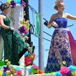 Scenes from the <strong>Battle</strong> of Flowers Parade
