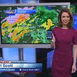 WLS-Channel 7's Cheryl Scott rises to top on station's weather bench