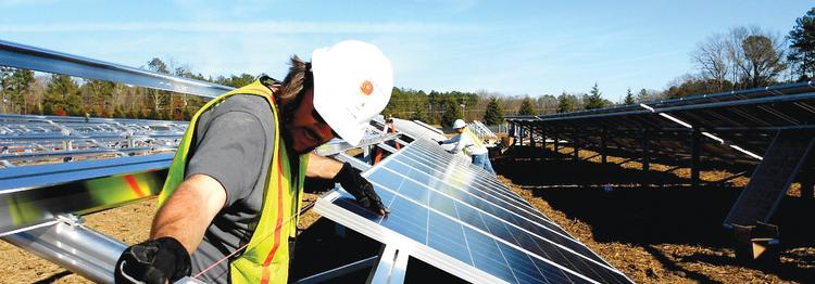Strata Solar has 11 projects under construction in North Carolina.