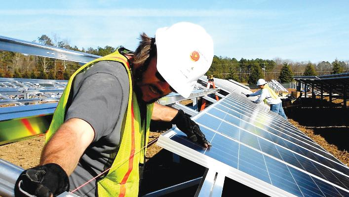 Strata Solar has 11 projects under construction in North Carolina, contributing to strong industry growth. The state had the second-largest increase in solar capacity in 2013 behind California.