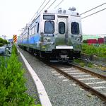 RTD's electric commuter trains ramping up to maximum speed (Video)