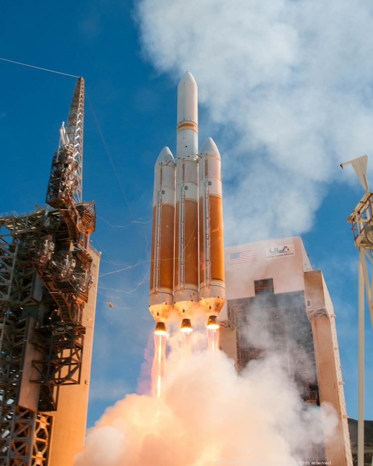 Three Aerojet Rocketdyne launch boost motors blasted a U.S. National Reconnaissance Office satellite into orbit aboard a Delta IV rocket in August 2013 from Vandenburg Air Force Base in Southern California.