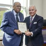 Local resident receives Order of the Long Leaf Pine award