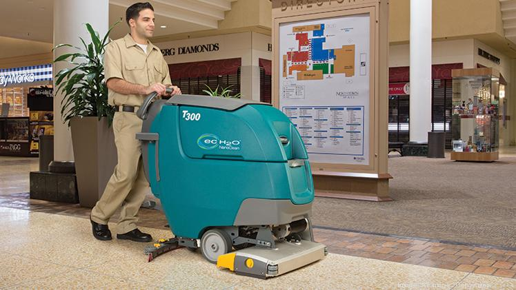 Tennant is exploring technology to let its floor cleaners operate autonomously.