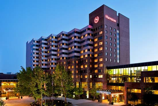 Sheraton Baltimore North and other suburban hotels will experience business as usual during the Grand Prix weekend. The downtown race isn't bringing the business promised when the race was first started three years ago.