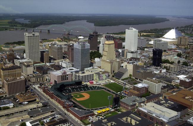 Memphis — AutoZone Park A private foundation built the $72 million AAA Redbirds stadium in 1998. In 2009, it defaulted on its loan, the same year it was named minor league park of the year.