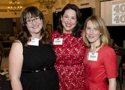 Laura Haney, honoree Catherine Cuellar and Stephanie Brinker M.D.