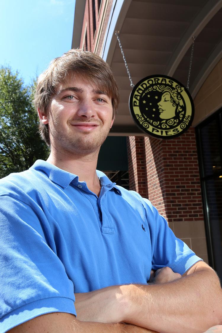 Peter Ustach, co-owner of Pandora's Pies and The Fat Frogg in Elon.