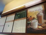The menu has all the standard coffee drinks, all made with a human touch.
