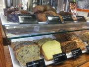 Peet's also carries an assortment of baked goods to go with your coffee.