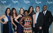 HYPE Leadership Team. HYPE, short for Houston Young Professionals Endeavor, hosted the after party.