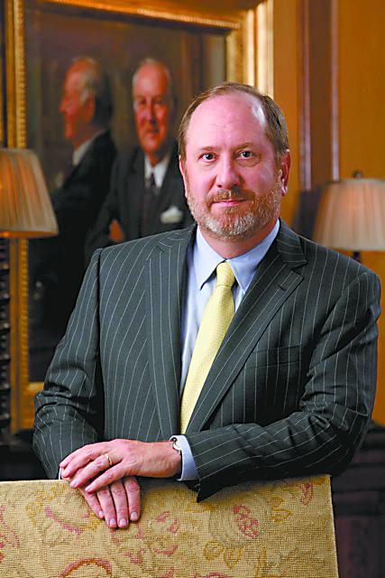Raymond Harbert, chairman and CEO of Birmingham's Harbert Management Corp. gave $40 million to his alma mater in June.