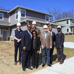 Developers complete affordable-rate duplexes on East Side