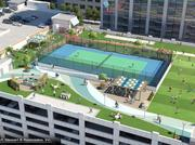 SkyHouse Uptown is hosting a grand-opening event this weekend for SkyPark, an outdoor park above the mixed-use development's parking deck.