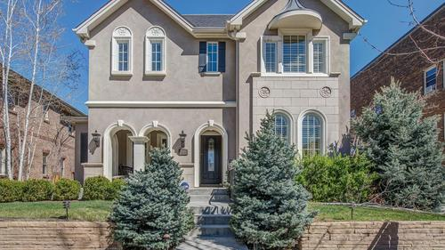 5 bedroom French Country Inspired Wash Park Home Three Blocks from Wash Park