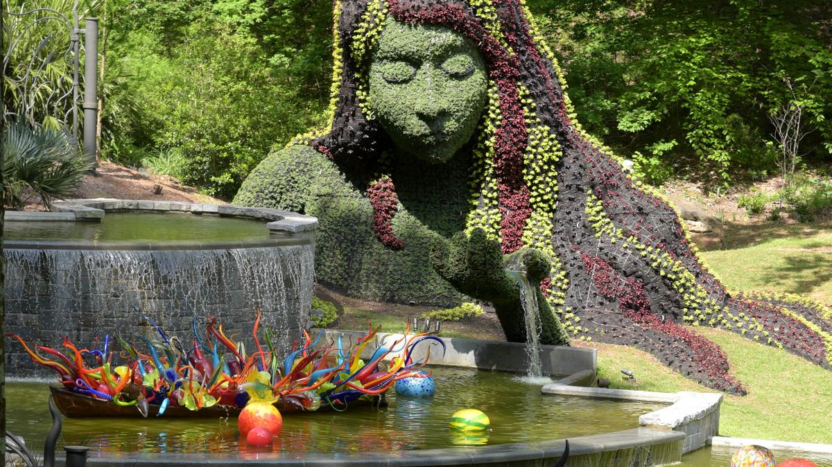 Chihuly In The Garden Returns To Atlanta Slideshow Atlanta Business Chronicle