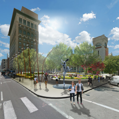New park planned for grand center st louis business journal for Newspace st louis