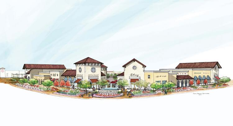 The proposed Santa Clara Town Center
