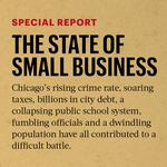 The state of small business in Chicago: lackluster