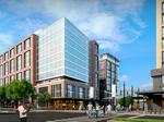 Preleasing passes the halfway point at The Wharf's first office building