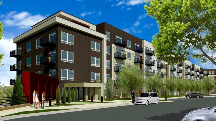 The Commons On Mayowood Is A New 159 Unit Luxury Apartment Project Under  Construction In