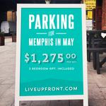 Guerrilla campaign urges Music Fest-goers to 'Live Up Front'