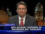 VIDEO: McCrory defends HB 2, slams PayPal in Fox News interview