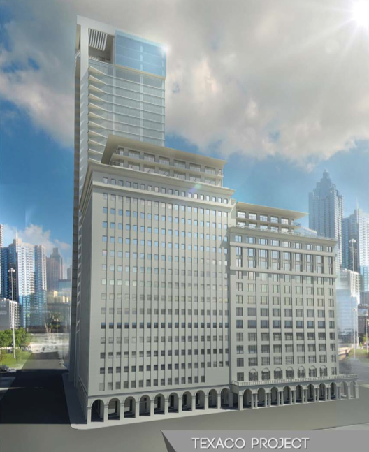 Provident Realty Advisors is moving forward with downtown's next luxury high-rise in the historic Texaco building at 1111 Rusk.