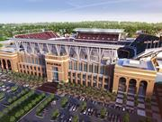 Kyle Field has 200 recycling receptacles and will expand to the tailgate areas.
