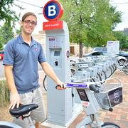 San Antonio Bike Share's Gus Sullivan says the Alamo City's B-cycle program has surpassed initial expectations.