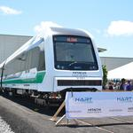 Honolulu unveils first rail car: Slideshow