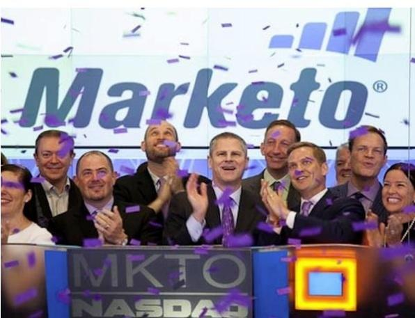 One-month returns on IPOs are at their highest since 2000 as stock debuts and filings pick up. The debut of Marketo, a marketing automation company, is shown here. Marketo leads local returns so far this year.