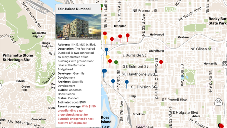 Project Watch: What\'s being built in Portland (Interactive ...