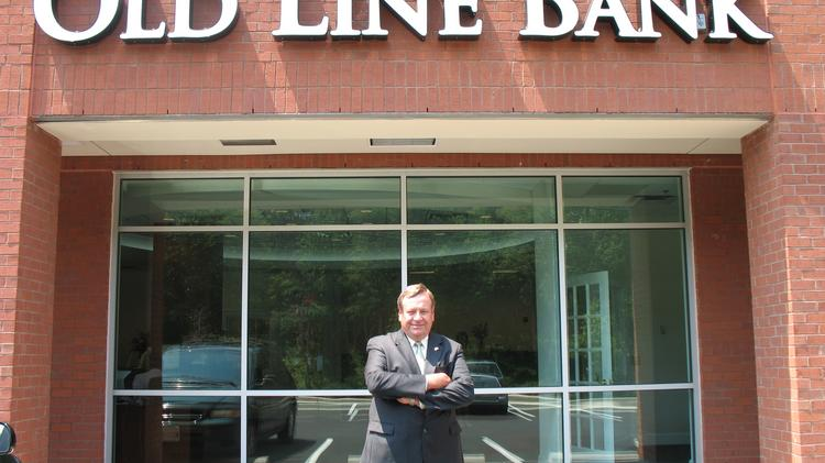 Old Line Bank of Bowie, led by CEO James Cornelsen, achieved a 200 percent gain, largest among the region's local banks, by tripling income to $3.6 million.