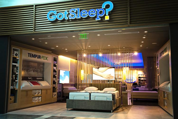 The Sleep Train continues to expand its Got Sleep mall concept by opening a store in Bakersfield. This is another location.
