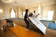 """The hotel's Grand Ballroom is among areas that are being redone """"top to bottom"""" Crider said."""