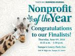 2016 Nonprofit of the Year finalists named