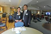 Inova is growing its elderly care program, PACE, with the help of Director Hwan Yi and Rose Mario, marketing and business development manager.