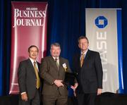 Coming in at No. 2 is Greenway Automotive with Chief Financial Officer Edward Alden accepting the award.